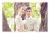 Carte de remerciement mariage Souvenir 1 photo (paysage) blanc