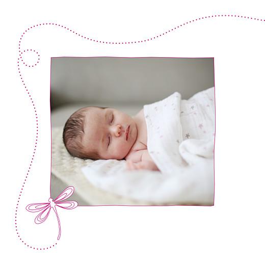 Faire-part de naissance Libellule 5 photos 4 pages rose - Page 2