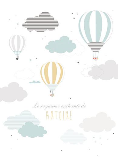 Affiche Dans le ciel bleu - Page 1