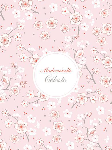 Affiche Cerisiers en fleurs rose