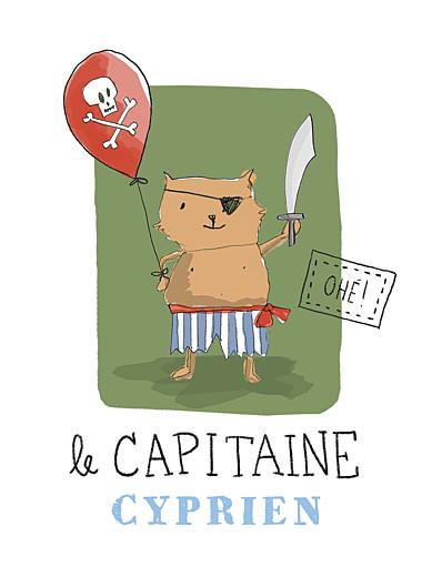Affiche Pirate vert - Page 1