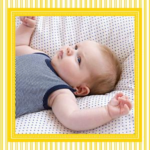 Carte de remerciement rayures merci petites rayures photo jaune