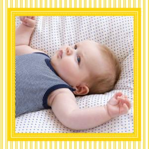 Carte de remerciement Merci petites rayures photo jaune