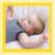 Carte de remerciement Merci petites rayures photo jaune - Page 1