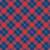 Faire-part de naissance Écossais bleu & rouge