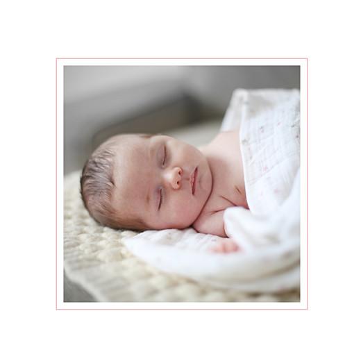 Faire-part de naissance Jeux enfants à 3 (4 pages) rose filles