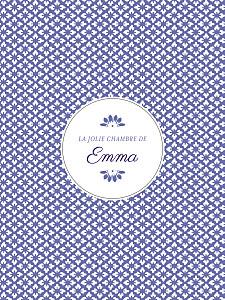 Affichette violet on dirait le sud... indigo