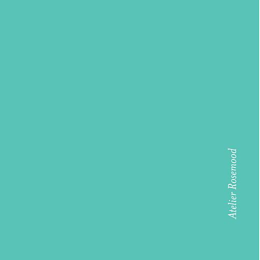 Etiquette de mariage Graphique orange et turquoise - Page 2