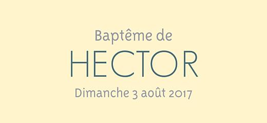 Etiquette de baptême Triangles jaune violet