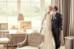 Carte de remerciement mariage Chic photo (paysage) orange - Page 1