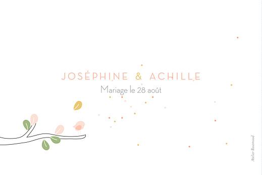 Marque-table mariage Les mariés blanc - Page 2