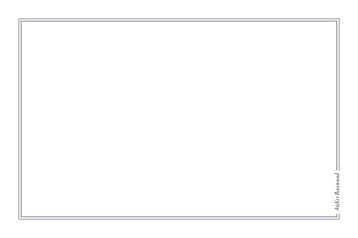 Carte de correspondance Kraft marron - Page 2