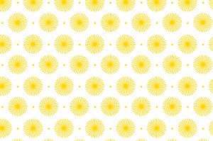 Carte de correspondance Pistil jaune