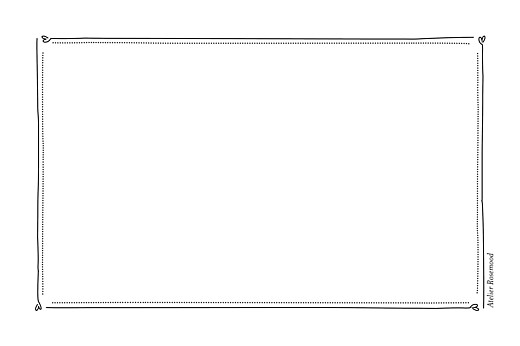 Carte de correspondance Ardoise noir - Page 2