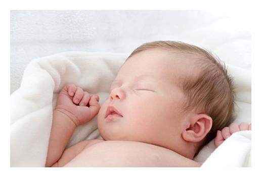 Faire-part de naissance Jouets d'antan (4 pages) blanc
