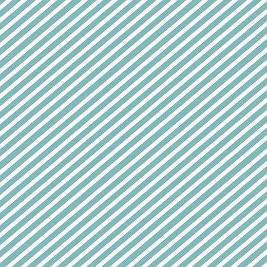 Carte de remerciement Petit sucre d\'orge turquoise