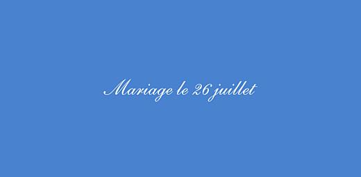Marque-place mariage Chic médaillon bleu - Page 2