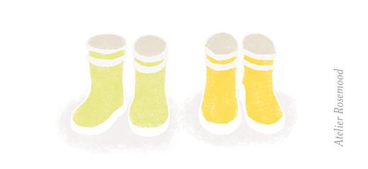 Etiquette perforée baptême Balade jumeaux jaune - Page 2