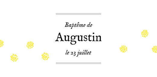 Marque-place Baptême Douceur champêtre vert clair - Page 4