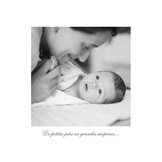 Faire-part de naissance Carrousel 2 photos blanc - Page 2