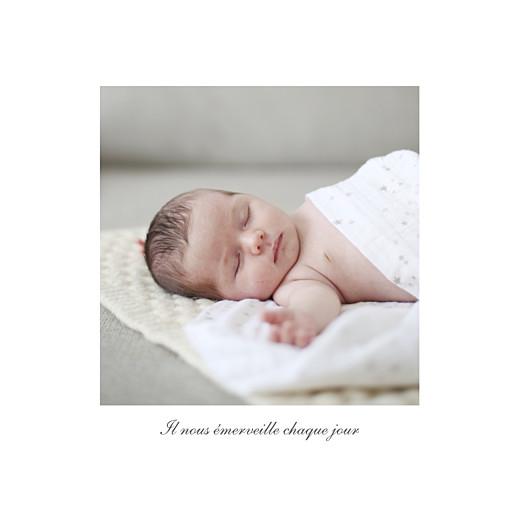 Faire-part de naissance Carrousel 2 photos blanc - Page 3