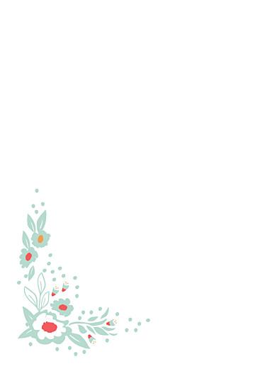 Livret de messe mariage Eden vert - Page 2