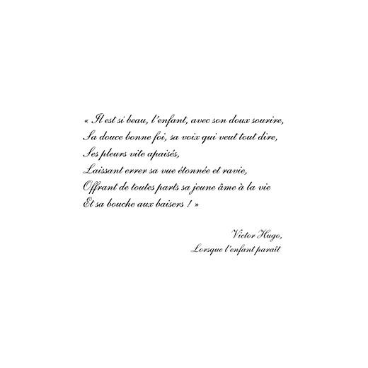 Faire-part de naissance Toile de lin (4 pages) vert - Page 3