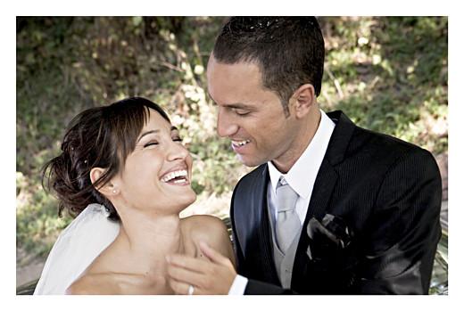 Carte de remerciement mariage Aquarelle paysage jaune - Page 2
