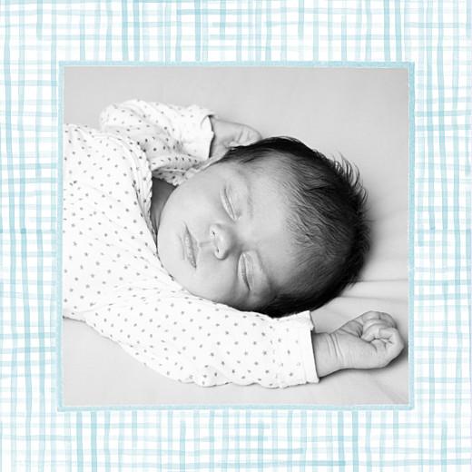 Faire-part de naissance Hibou aquarelle 2 photos blanc - Page 2
