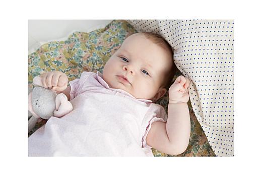 Faire-part de naissance Lovely family 4 enfants filles