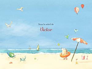 Affiche Conte d'été bleu
