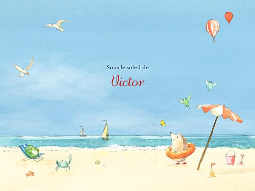 Affiche Conte d'été bleu - Page 1