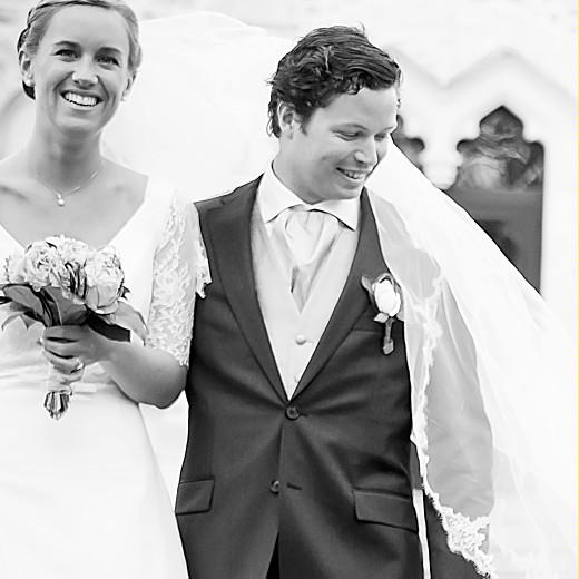 Carte de remerciement mariage Médaillon 4 photos carré kraft - Page 2