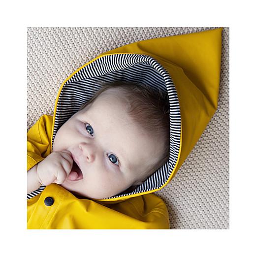 Faire-part de naissance Lovely boy (triptyque) blanc