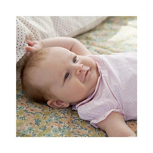 Faire-part de naissance Lovely girl (triptyque) blanc - Page 4