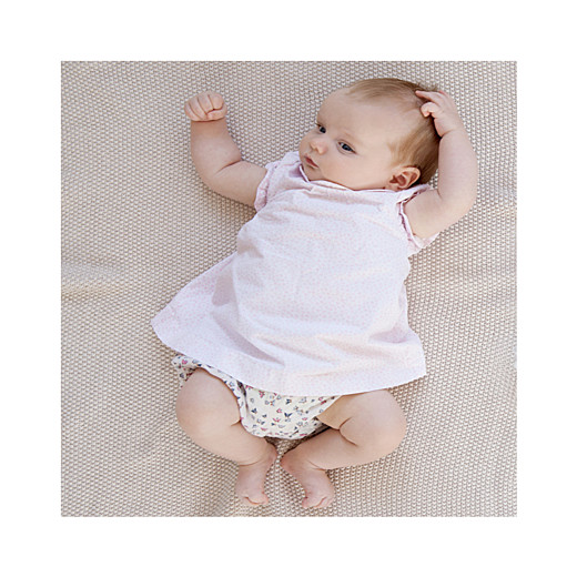 Faire-part de naissance Lovely girl (triptyque) blanc - Page 6