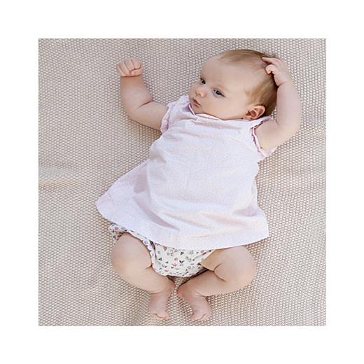 Faire-part de naissance Lovely girl (triptyque) blanc