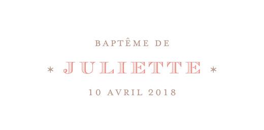 Marque-place Baptême Félicité rose - Page 4