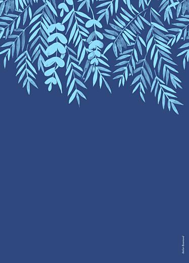 Livret de messe mariage Feuillage bleu - Page 4