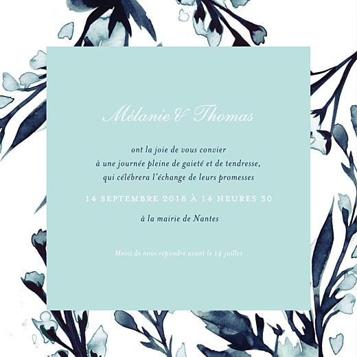 Faire-part de mariage Bleu de minuit (4 pages) bleu - Page 3