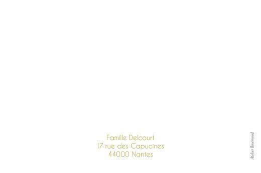 Carte de correspondance Étoiles ocre - Page 2