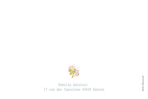 Carte de correspondance Souvenir bleu canard - Page 2
