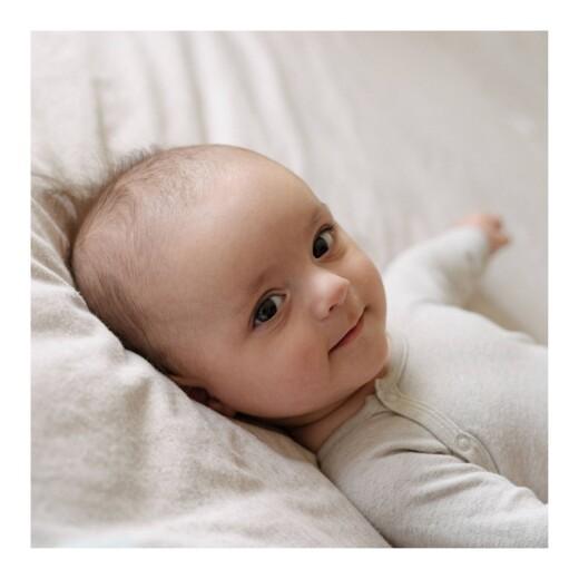 Carte de remerciement Petite envolée d'oiseaux photo bleu