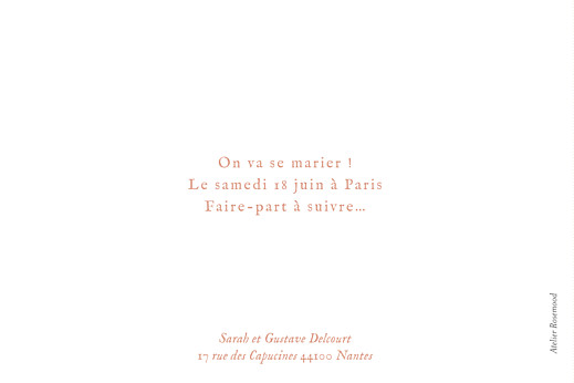 Save the Date Bandeau 1 photo paysage blanc - Page 2