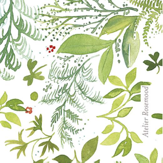 Etiquette de baptême Murmure de forêt vert - Page 2