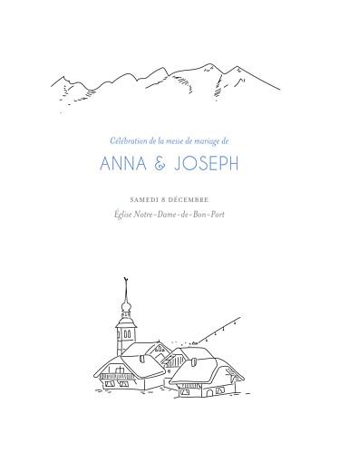 Livret de messe mariage Promesse d'hiver