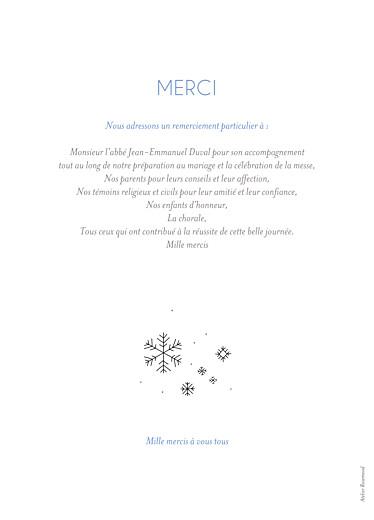 Livret de messe mariage Promesse d'hiver - Page 4