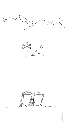 Menu de mariage Promesse d'hiver blanc - Page 4