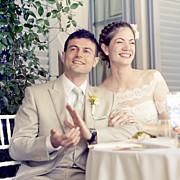 Carte de remerciement mariage Seigaiha jaune page 6