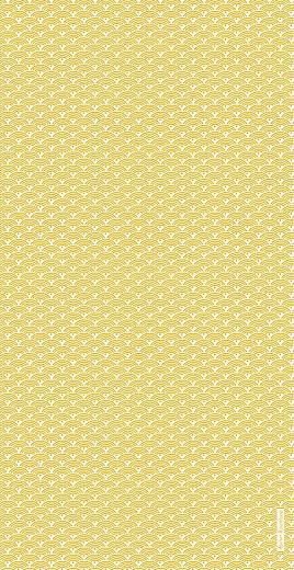 Menu de mariage Seigaiha (4pages) jaune - Page 4